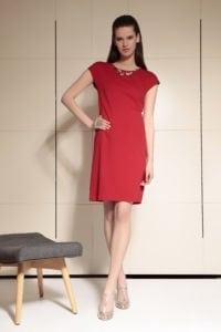 Di Caprio crvena haljina s lančićem | Varteks